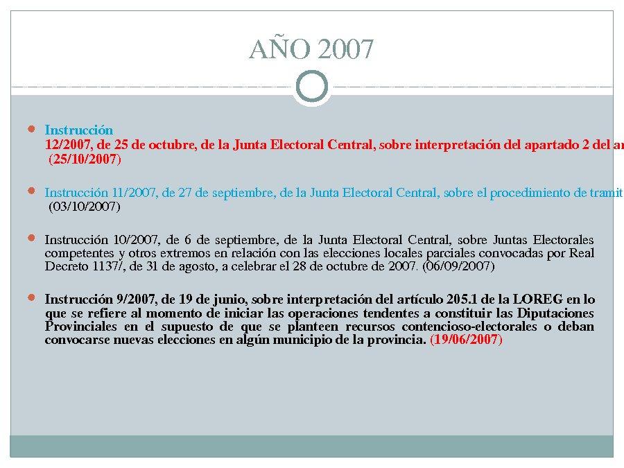 Presentación, primeira ponencia